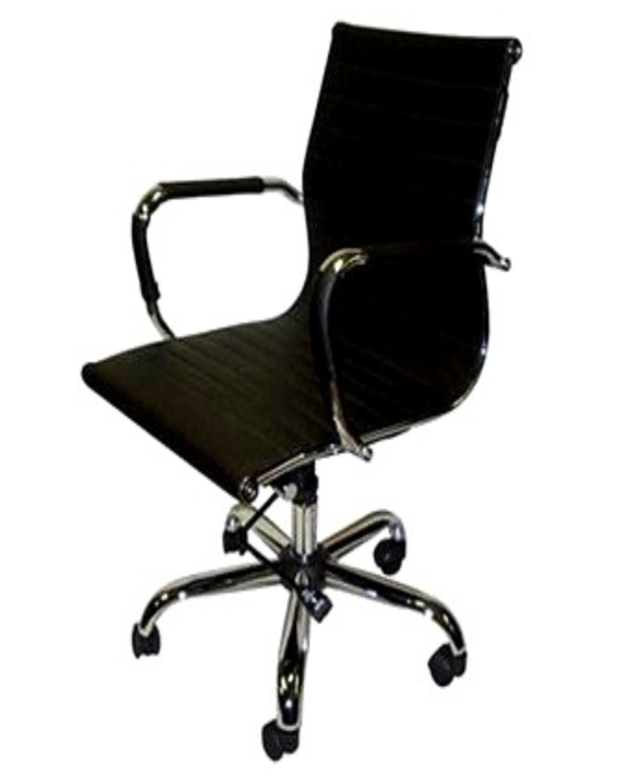 High-Back Executive Chair with Removable Arm Covers