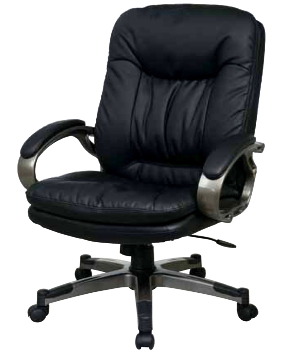 Executive Eco Leather Chair with Locking Tilt Control and Coated